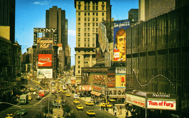 times square 1980