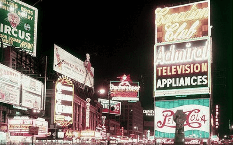 times square 1970