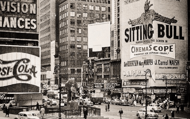 times square 1920